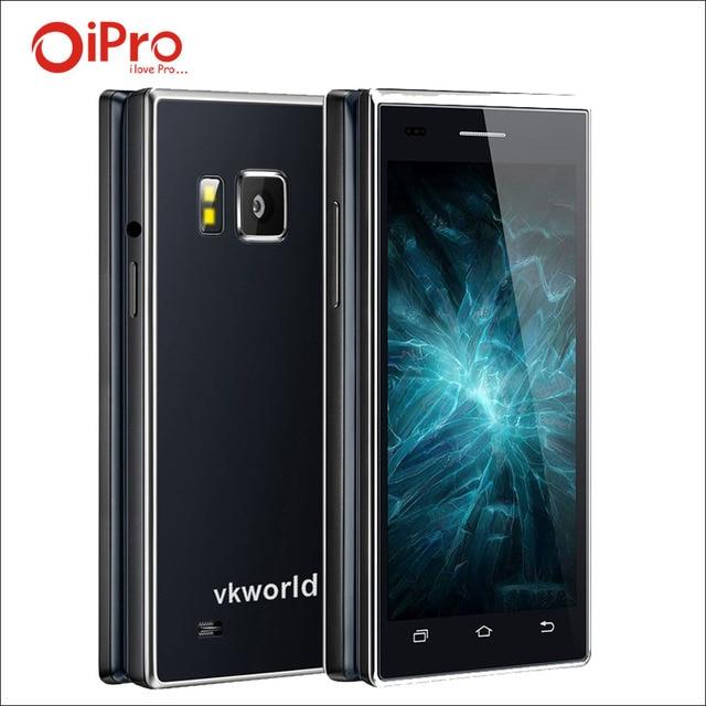 VKworld T2 3 Г WCDMA Флип Мобильный Телефон 4.0 ''Android 5.1 MTK6580 Quad Core Смартфон Dual SIM 1 Г RAM 8 Г ROM 13.0MP Двойной экран