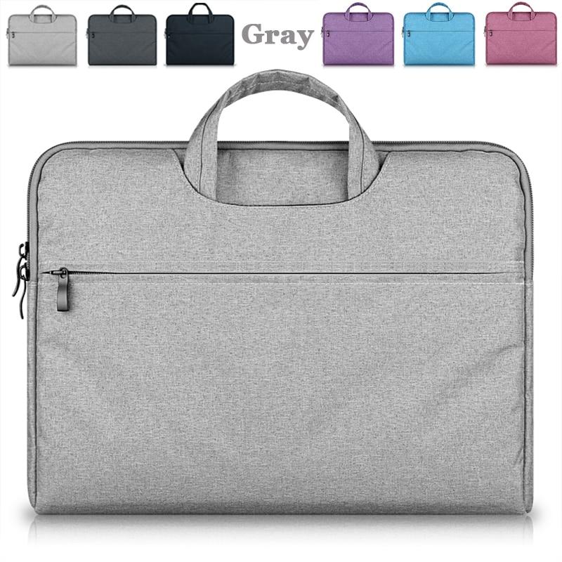 Laptop Bag 15.6 15,14,12,11 Inch Computer Notebook Bag Briefcase Bags For MacBook Air 13 Woman Men PC portable Universal Case