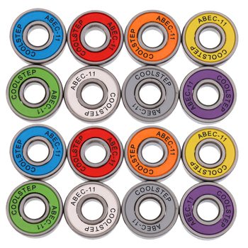 16 Pieces ABEC 11 High Speed Wearproof Skateboard Scooter Inline Bearings Skate Board Accessories