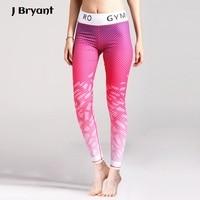 2017 Legins Sport Fitness Women Yoga Leggings Yoga Pants Sport Tights Pantalon Running Femme