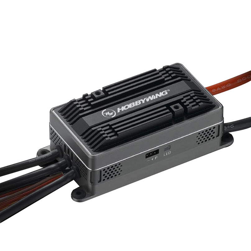 HobbyWing Platinum HV 200A V4.1 ESC 6-14 s Controllo Elettronico della Velocità con/senza BEC per RC FAI DA TE racer