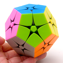 Lefun 2x2 Megamin Magic Cube Stickerless 2Layer Wumofang Professional Puzzle Speed Cubes Educational Special Toys For Children