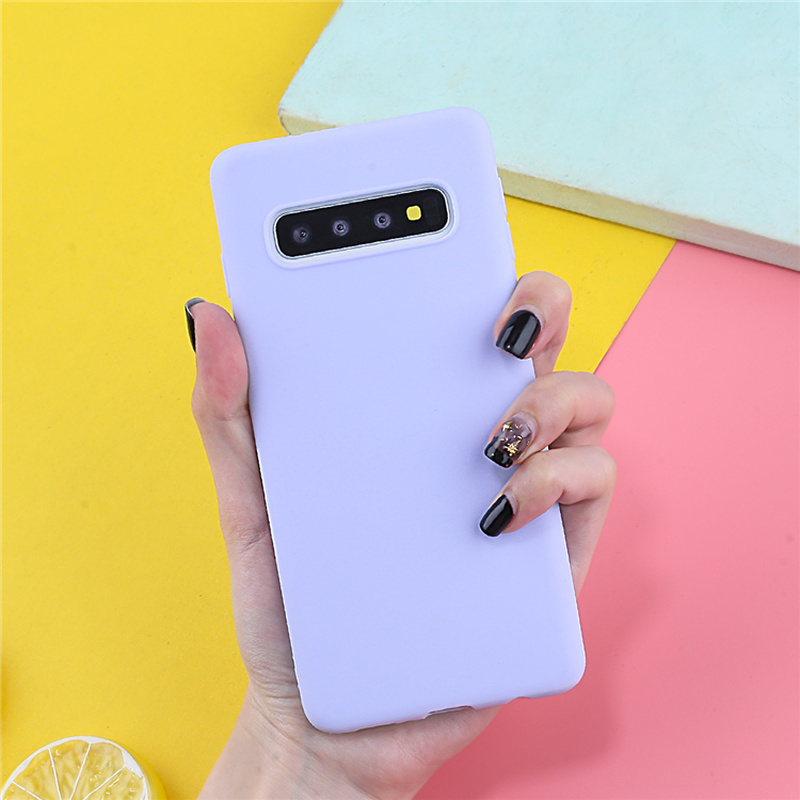 Image 5 - Case For Samsung Galaxy A7 2018 Cases Luxury TPU Cover For Samsung Galaxy A5 A3 A8 S10 S10E S10 S8 S9Plus J4 J6 2018 Plus Candy-in Fitted Cases from Cellphones & Telecommunications