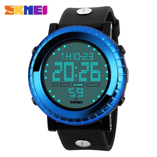 Top Brand Mens Sports Watches LED Digital Watch Fashion Outdoor Waterproof  Men's Wristwatches Relogio Masculino Erkek Kol Saati