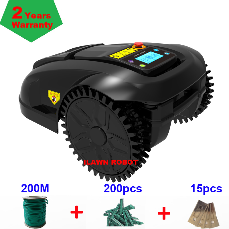 Испанский склад садовый резак травы инструмент робот газонокосилка Электрический аккумулятор газонокосилка для среднего газона