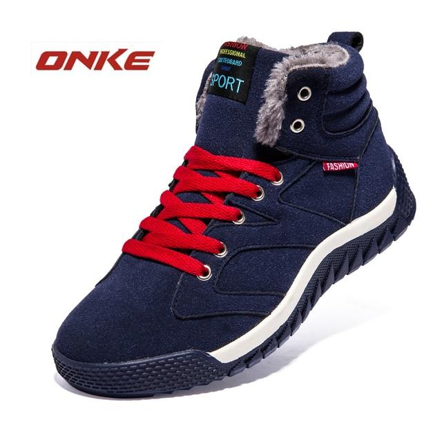 Noke Brand 2016 Thickening Men's Winter Sneakers Red Blue Men Shoes Sport Zapatillas Deportivas Hombre De Marca Max Running