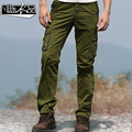 Military Pants Men jogger pants tactical pants Army Cargo 100% cotton Kargo Pantolon 2017 new