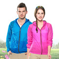 Men Women Ultra-thin Outdoor Jacket Camping Hiking Fishing Clothes Super Light Hoodie Clothing Chaquetas Mujer Spring Summer