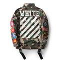 De alta Calidad Para Mujer Para Hombre de Justin Bieber Chaqueta de Camuflaje de Color Blanquecino de Kanye West Moda Militar Camo Blanco Chaquetas Y abrigos