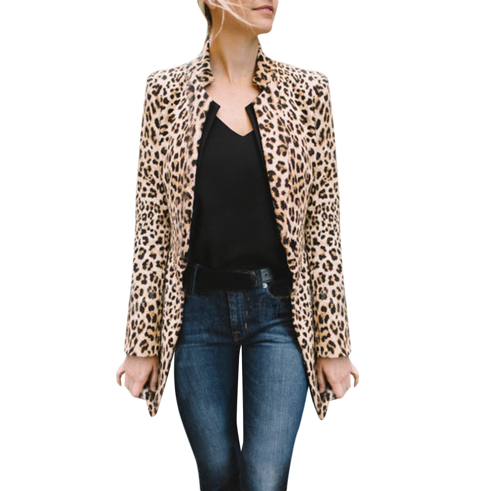 HTB1CyaKXvvsK1Rjy0Fiq6zwtXXan Women Leopard Printed Sexy Winter Warm Wind Coat Cardigan Long Coat Casual streetwear Cardigan  #1019 A#487