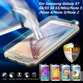 Explosionproof Tempered Glass Layer Clear Front Screen Protector For Samsung Galaxy All Film Arc Edge Technology Touch Sensitive