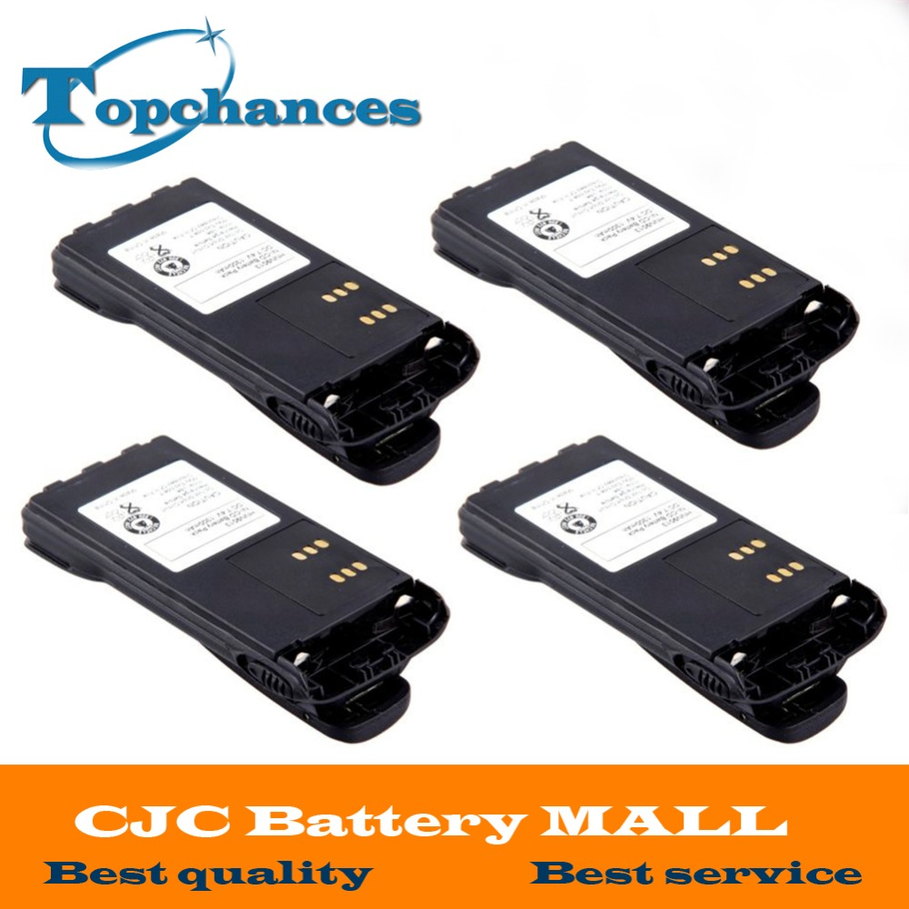 10 pcs 1600mAh Ni-Mh HNN9013B Battery for MOTOROLA MTX850 HT1250 HT750 GP338