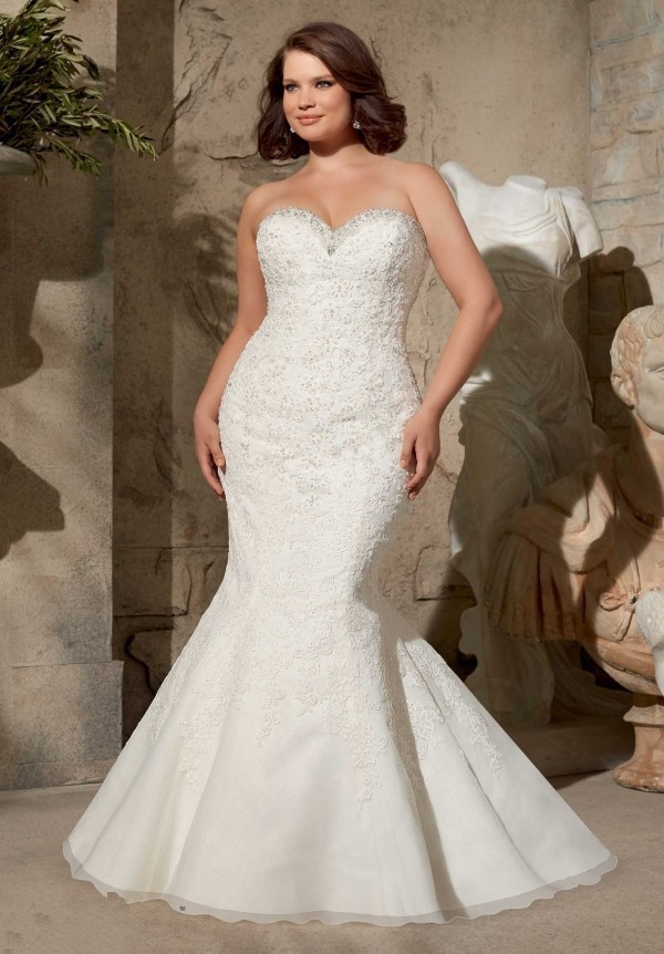 Plus Size Wedding Dress. Plus Size Wedding Dress With Sleeves ...