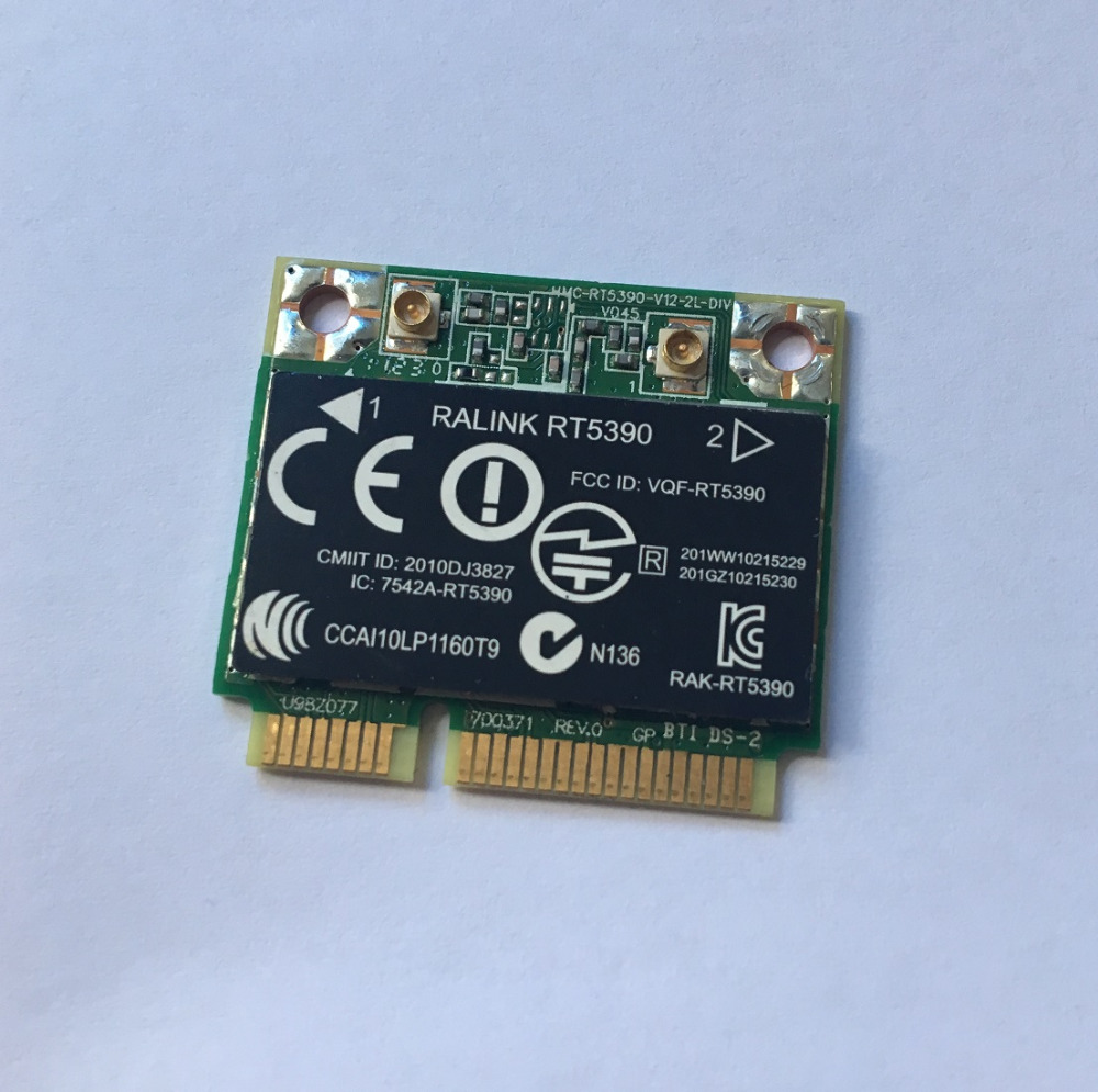SSEA Wholesales Wireless Card for HP  TPN Q109 G4 4 Q109 2000 G4  RT5390 Half Mini PCI E 802.11 b/g/n 300Mbps SPS:630703 001|Network Cards| |  - title=