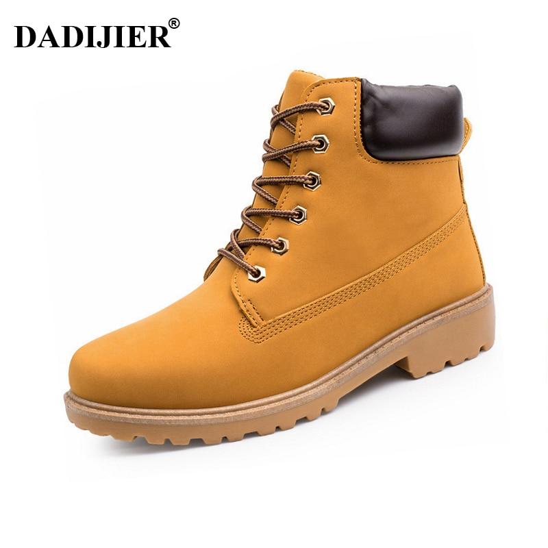 Мужские ботинки 2019, модные ботинки, зимние ботинки, уличные повседневные недорогие ботинки из древесины, осенне-зимняя обувь для влюбленных...