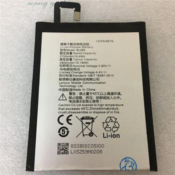 100 oryginalny wysokiej jakości 3 85V 2700mAh BL260 dla Lenovo Vibe S1 Lite S1La40 baterii tanie i dobre opinie VBNM 2201 mAh-2800 mAh