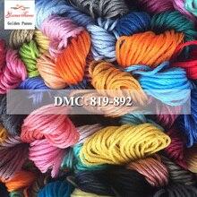 Golden Panno DIY DMC 819-892 вышивка нитью нитки 10 шт./лот 1,2 м Набор для вышивки крестом наборы для вышивки крестом 11,12