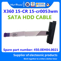 MAD DRAGON Brand Laptop new SATA HDD hard drive cable connector cable For HP Pavilion X360 15 CR 450.0EH04.0011 450.0EH04.0021