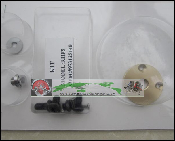 Turbo Repair Kit rebuild For HOLDEN Jackaroo for ISUZU D-MAX Trooper Monterey 4JX1TC 4jx1T 3.0L RHF5 8973125140 Turbocharger free ship turbo rhf5 8973737771 897373 7771 turbo turbine turbocharger for isuzu d max d max h warner 4ja1t 4ja1 t 4ja1 t engine page 10