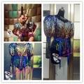 Хорошее певец танцор платье для ну вечеринку шоу выступление мода костюм dj ds певица цельный костюм фотосервис