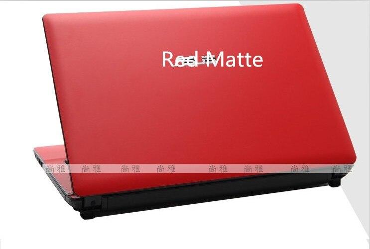 Специальные виниловые наклейки для ноутбука из углеродного волокна для ASUS G75 G75VW G75VX 17,3 дюйма - Цвет: Red Matte