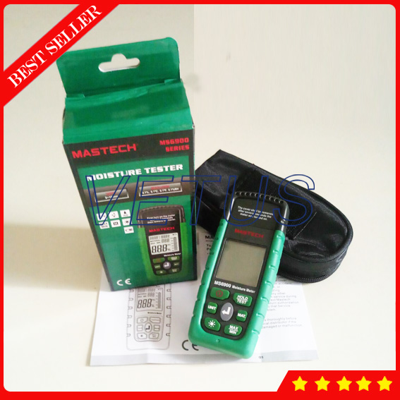 MASTECH MS6900 Professional Mini Digital Concrete Moisture Meter трассоискатель mastech ms6812