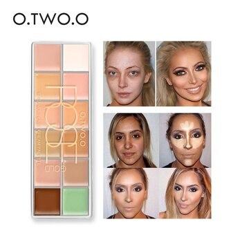 O. DEUX. O 12 Couleurs Cosmétique Camouflage Concealer Palette Maquillage Base Fondation Correcteur Paleta De Corretivo Amorce TSLM1