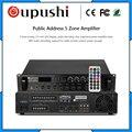 150 Вт 5 зонирование усилитель мощности с USB SD картой FM дисплеем oupushi MP-2150DU