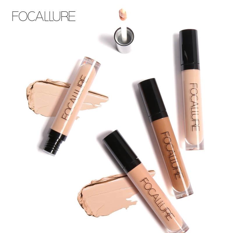 Focallure New Products 7 Colors Face Eyes Liquid Concealer W