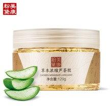 Meiking aloe vera gel cremas de día 120g hidratante cuidado de la piel de las mujeres promoción productos de cuidado de la piel crema facial envío libre 2016 nueva