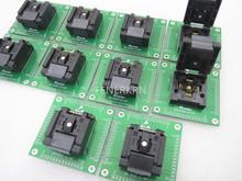 Z klapką QFN56 DIP56 rozmiar 7*7mm Pitch 0 4mm IC zasilacz testujący napięcie test gniazda gniazdo testowe stanowisko testowe tanie tanio Tester kabli JINYUSHI