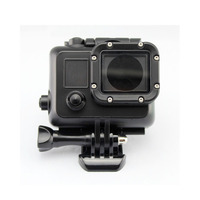 Private Mould Cool Dark 45M Underwater Waterproof Protective Housing Case Replacement For Go Pro Hero 4