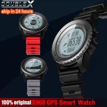 Купить с кэшбэком DoubleX new outdoor S968 Waterproof IP68 Smart Watch Bluetooth Sport watch Support GPS Heart Rate Monitor Multi-sport Smartwatch