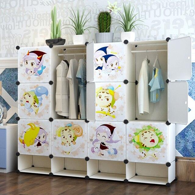 Super Jieka Attraverso Guardaroba Semplice Ikea Bambini Bambino