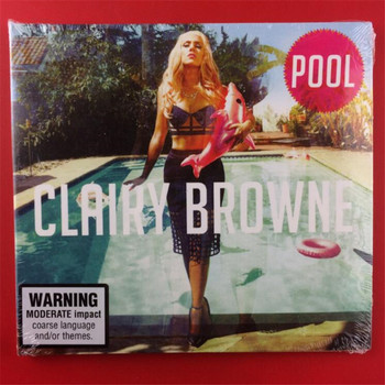 OM-01 new seal: Clairy Browne Pool Australia version CD light disk [free shipping]