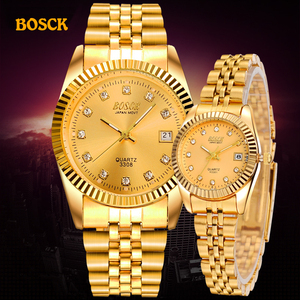BOSCK Fashion Couples Wristwat