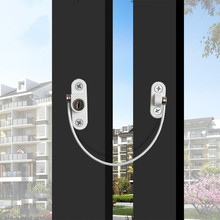 Window-Lock Restrictor Safety Door Children Security 1-Pc Twisted-Pair
