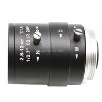Megapixel Fixed Iris HD CCTV Camera Lens 2 8 12mm Varifocal HD Security Camera Lens Manual