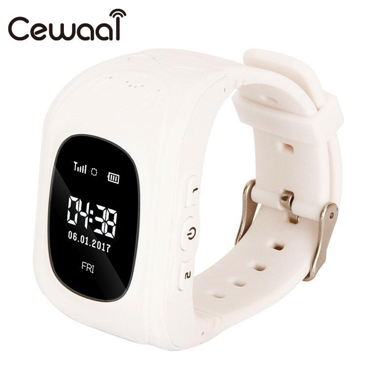 Cewaal Intelligent Smart Watch Call Fashion Children Watch SOS Call Tracker for Kids Safe Anti-Lost for iOS Android