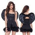 Hohe qualität SExy engel kostüm flügel erwachsene fantasia quente hot erotic baby doll dessous kleid|Babydolls und Hemden|Neuheiten und Spezialanwendung -
