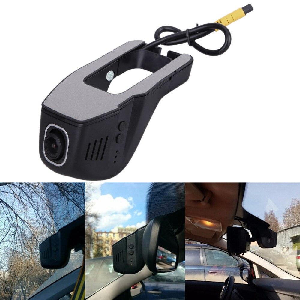 Voiture DVR Caméra Vidéo Numérique Enregistreur Grand Angle 1080 P WiFi Registrator Dash Cam Dashcam Caméscope pour Auto Moto Nuit Vision