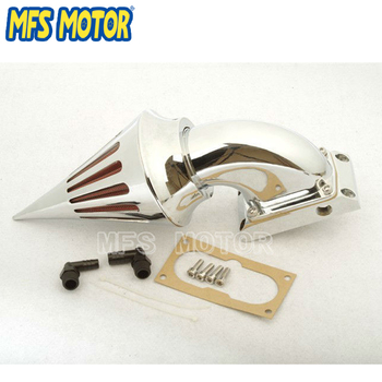 Motorcycle Parts Spike Air Cleaner kits filter for Kawasaki All Vulcan 2000 Classic LT CHROME
