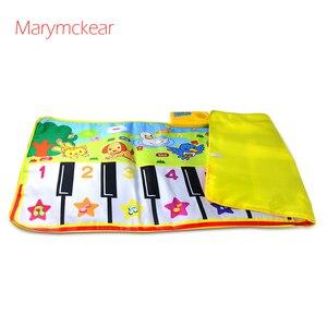 Image 3 - 135X58CM大サイズミュージカルマットベビー動物テーマ教育学習おもちゃ子供infantil演奏タイプ音楽マット