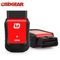 Новое поступление XTUNER X500 OBD2 автомобиля диагностические инструменты для Android/PAD/PC Automotriz сканер со специальной функцией Bluetooth