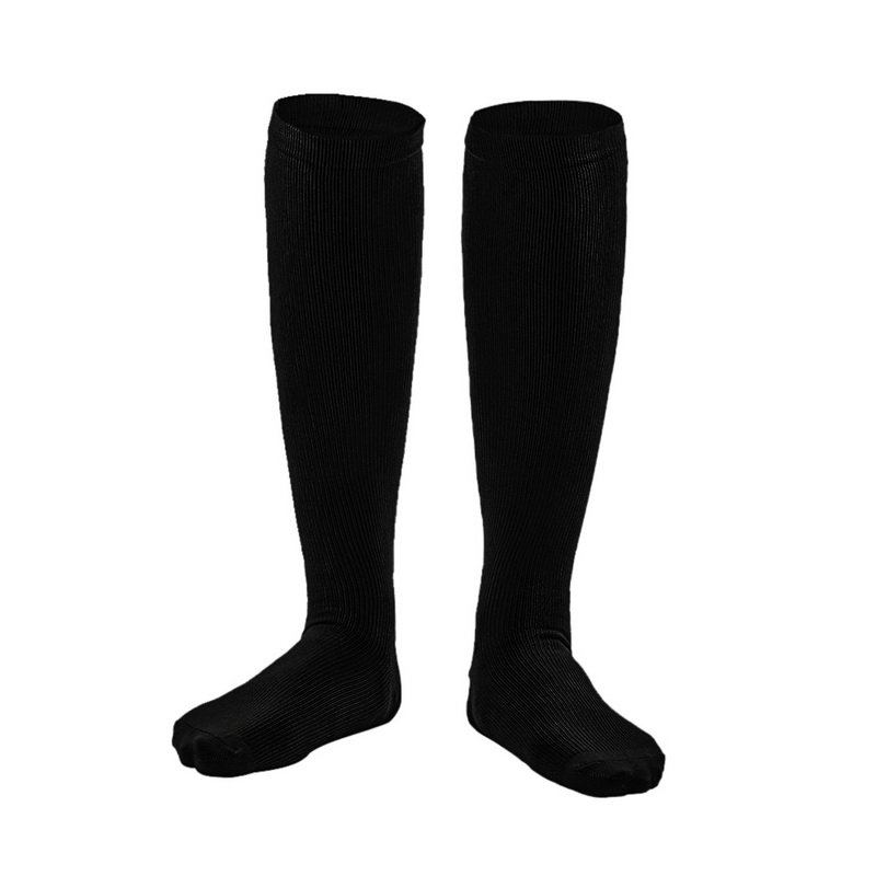 651ef69df85 1Pair New Unisex Medical Compression Socks Women Men Pressure Varicose  Veins Leg Relief Pain Knee High Leg Support Stockings-in Men s Socks from  Underwear ...