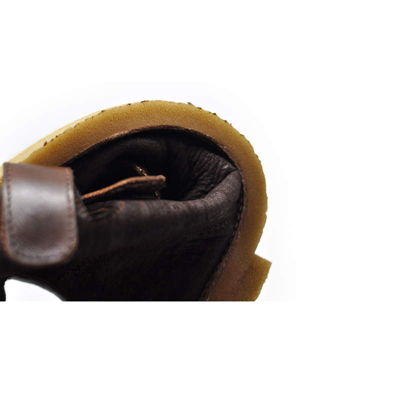Del Cuadrado Mujer Coffee De Pie Suave Genuino Dedo Hecho Casuales Las Planos khaki Botas Hueco Artmu Mano Cuero Mujeres A Zapatos Fondo Originales ZTAWxnq7
