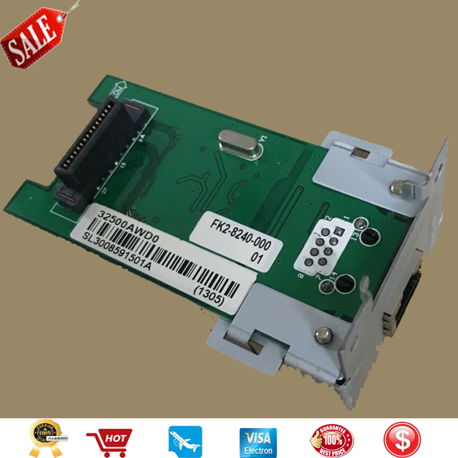 1PC X Printer Network card For Canon IR2318L IR2320 IR 2320 2420 Nw If Adapter In-E14 E14 Network card printer parts