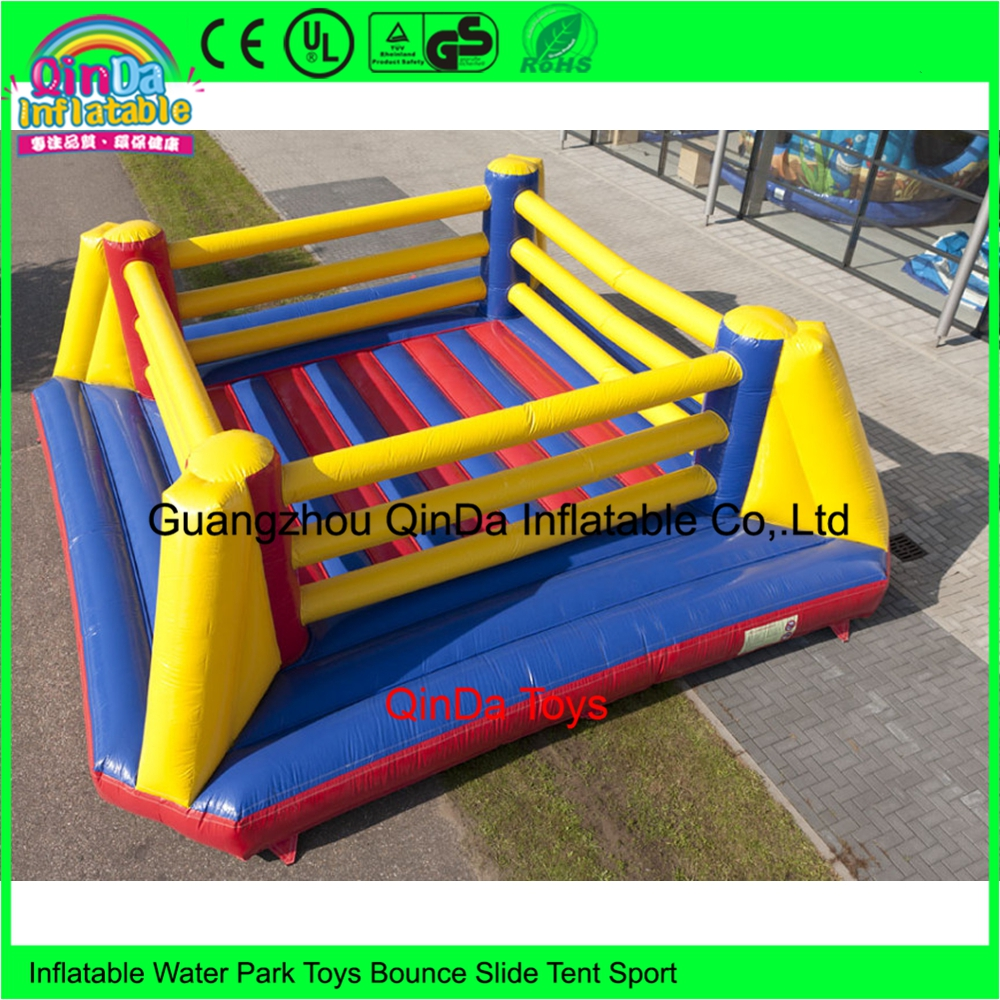 5*5M Inflatable Wrestling Ring / Inflatable Floor Boxing Ring For Sale ao058m 2m hot selling inflatable advertising helium balloon ball pvc helium balioon inflatable sphere sky balloon for sale
