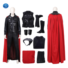 Manluyunxiao Thor Cosplay Halloween Costumes For Men Adult Marvel Movie Ragnarok Superhero Odinson Outfit Plus Custom Made