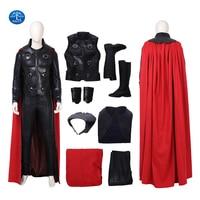 New Arrival Thor Ragnarok Cosplay Thor Costume Men Superhero Cosplay Costume Halloween Costumes For Men Full Set Custom Made